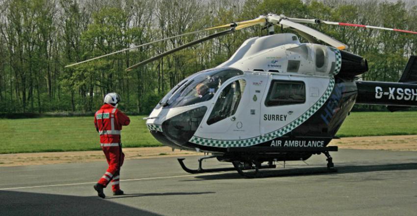 Emergency Air Ambulance services