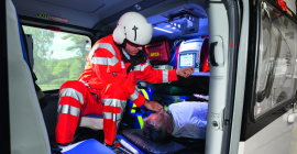 EVE Emergency Patient Ventilation takes to the air