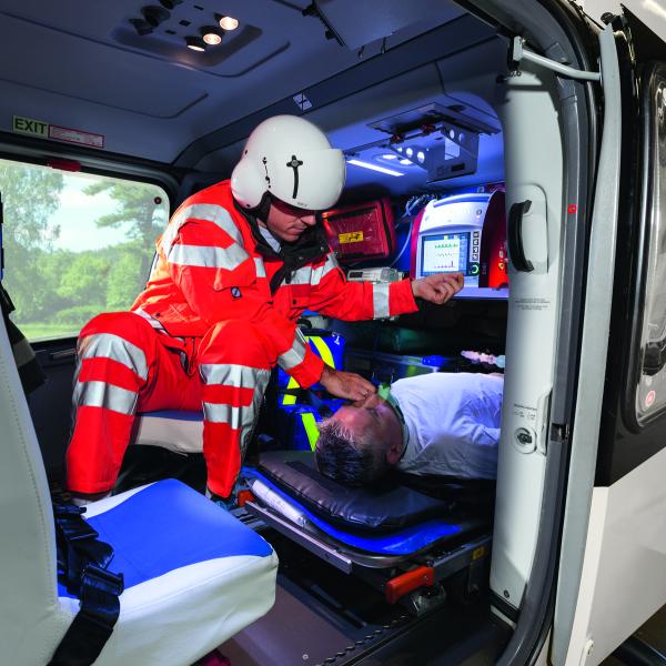 eve tr emergency transport ventilator medacx